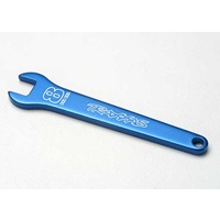 Traxxas 5478: Flat wrench, 8mm (blue-anodized aluminum)