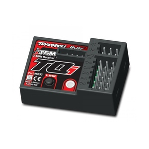 TRAXXAS 6533 Receiver, micro, TQi 2.4GHz with telemetry & TSM