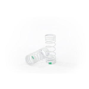 Traxxas 6862: Springs, front (progressive, -10% rate, green) (2)