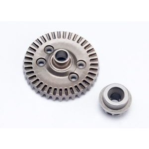 Traxxas 6879: Ring gear, differential/ pinion gear, differential (rear)