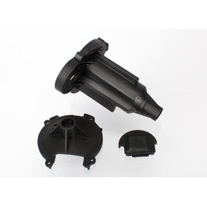 Traxxas 6991: Gearbox housing, rear/ pinion access cover