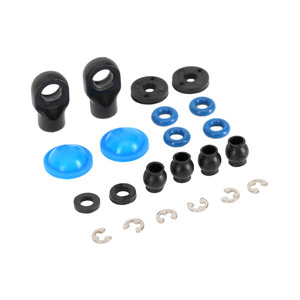 Traxxas 7062: Rebuild kit, GTR composite shocks (x-rings, bladders, pistons, e-clips, shock rod ends, hollow balls) (renews 2 shocks)