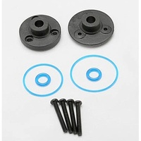 Traxxas 7080: Diff/Differential Cover Plate Front/Rear