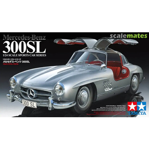 Tamiya No.338  Mercedes-Benz 300 SL 1:24 Model Kit #24338