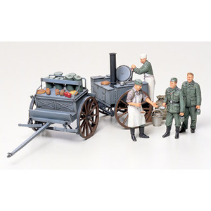 Tamiya 35247 German Field Kitchen Scenery 1:35 Scale Model Military Miniature Series No.247