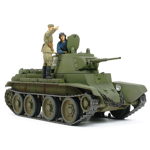 Tamiya Russian BT-7 Model 1937 1:35 Scale Model Military Miniature Series No.327 #35327