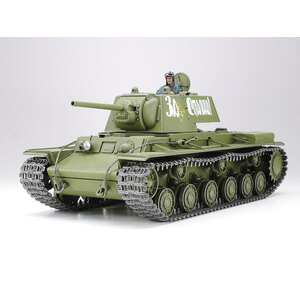 Tamiya Russian Heavy Tank KV-1 Model 1941 Early Production 1:35 Scale Model Military Miniature Series no.372 #35372