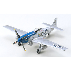 Tamiya North American P-51D Mustang™ 1:72 Scale Model War Bird Collection no.49 #60749