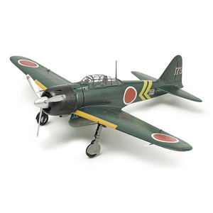 Tamiya Mitsubishi A6M3/3a Zero Fighter Model 22 (Zeke) 1:72 Scale Model War Bird Collection no.85 #60785