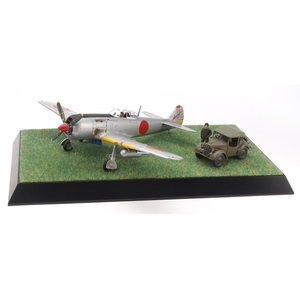 Tamiya Nakajima Hayate (Frank) & Kurogane Scenery Set 1:48 Scale Model  Aircraft Series No.116 #61116