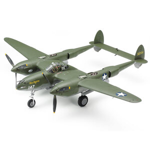 Tamiya Lockheed® P-38®F/G Lightning® 1:48 Scale Model Aircraft Series no.120 #61120