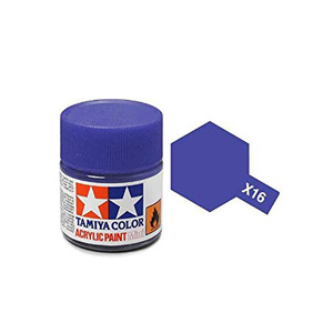Tamiya #81516 - Acrylic Mini Paint X-16 Purple 10Ml Bottle
