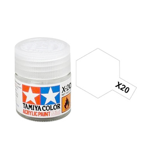 Tamiya #81520 - Acrylic Mini X-20A Thinner 10Ml Bottle