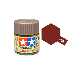 Tamiya #81533 - Acrylic Mini Paint X-33 Bronze 10Ml Bottle