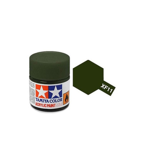 Tamiya #81711 - Acrylic Mini Paint Xf-11 J.N. Green 10Ml Bottle