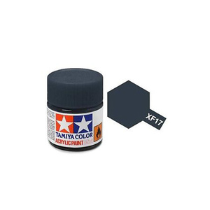 Tamiya #81717 - Acrylic Mini Paint Xf-17 Sea Blue 10Ml Bottle