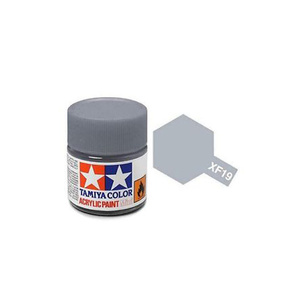 Tamiya #81719 - Acrylic Mini Paint Xf-19 Sky Grey 10Ml Bottle