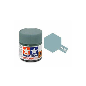 Tamiya #81723 - Acrylic Mini Paint Xf-23 Light Blue 10Ml Bottle