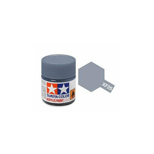 Tamiya #81725 - Acrylic Mini Paint Xf-25 Lt Sea Grey 10Ml Bottle