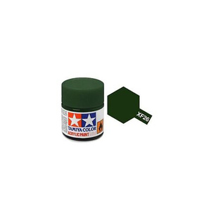 Tamiya #81726 - Acrylic Mini Paint Xf-26 Deep Green 10Ml Bottle