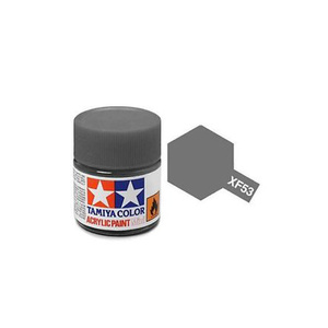 Tamiya #81753 - Acrylic Mini Paint Xf-53 Neutral Grey 10Ml Bottle