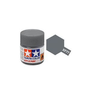 Tamiya #81777 - Acrylic Mini Paint Xf-77 Ijn Grey (Sasebo Arsenal) 10Ml Bottle