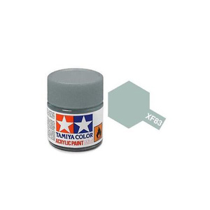 Tamiya #81783 - Acrylic Mini Paint Xf-83 Medium Sea Grey 2 (RAF) 10Ml Bottle