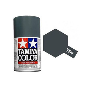 Tamiya TS-4 German Grey Spray Lacquer Paint #85004