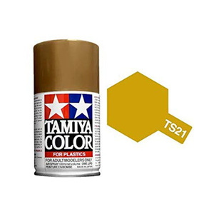 Tamiya TS-21 Gold Spray Lacquer Paint #85021