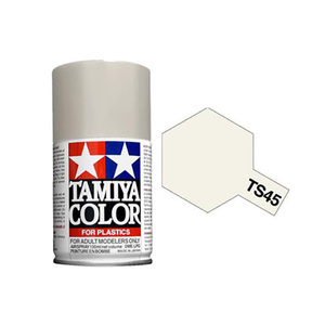 Tamiya TS-45 Pearl White Spray Lacquer Paint #85045