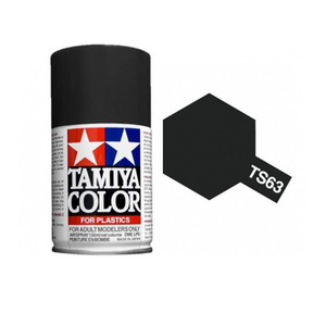 Tamiya TS-63 Nato Black Spray Lacquer Paint #85063