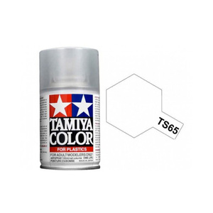 Tamiya TS-65 Pearl Clear Spray Lacquer Paint #85065