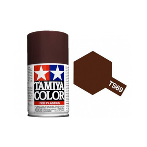 Tamiya TS-69 Linoleum Deck Brown Spray Lacquer Paint #85069