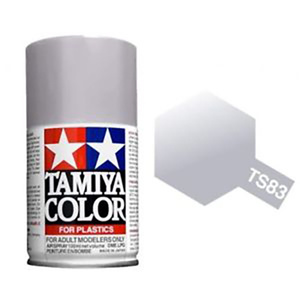 Tamiya TS-83 Metallic Silver Spray Lacquer Paint 100ml #85083