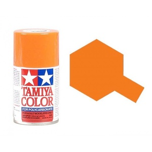Tamiya PS-7 Orange Polycarbonate Spray Paint 100mL #86007