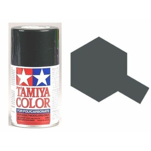Tamiya PS-23 Gun Metal Polycarbanate Spray Paint 100ml #86023