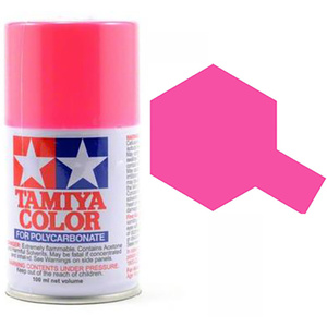 Tamiya PS-29 Fluorescent Pink Polycarbanate Spray Paint #86029