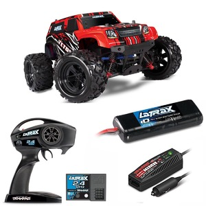 Traxxas LaTrax Teton 1/18 Monster Truck 4WD RTR Red w/ 2.4GHz Radio #76054