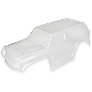 Traxxas 7611: Body, LaTrax® 1/18 Teton, (clear, requires painting)/ decal sheet