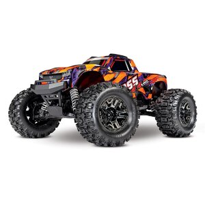 Traxxas Hoss 4X4 VXL 3S 4WD Brushless RTR Monster Truck (Orange) w/TQi 2.4GHz Radio, TSM & Self-Righting