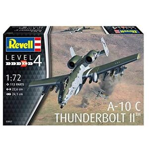 Revell A-10C Thunderbolt II 1:72 Scale Model #95-03857