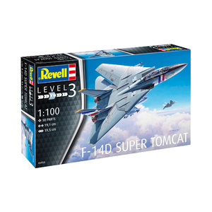 Revell F-14D Super Tomcat 1:100 Scale Model #95-03950