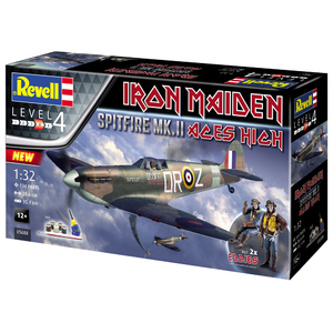 Revell Supermarine Spitfire Mk.II Iron Maiden 1:32 Scale Model Kit #95-05688