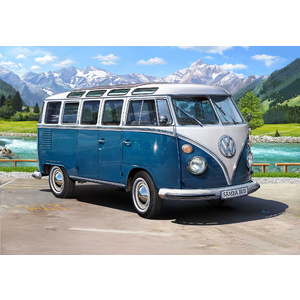 Revell 07009 VW Typ 2 T1 Samba Bus Scale: 1:16 Scale Model
