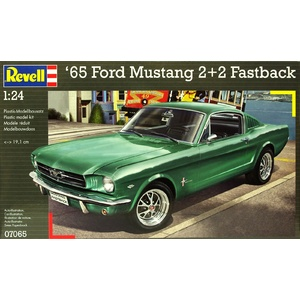 1965 Ford Mustang 2+2 Fastback 1:24 Model #07065