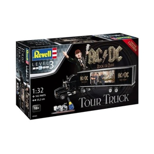 "Revell 07453 Truck & Trailer ""AC/DC"" Limited Edition 1:32 Scale Model"