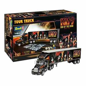 Revell 07644 Gift Set Kiss Tour Truck 1:32 Scale Model
