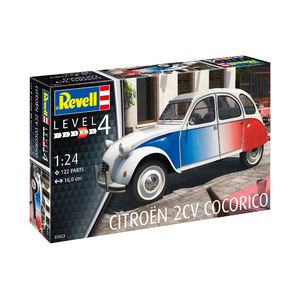 Revell Citroën 2 CV Cocorico 1:24 Scale Model #95-07653