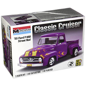 Monogram '55 Ford F-100 Street Rod By Revell #85-0880