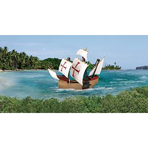 Revell Santa Maria Model Ship 1:350 Scale #65660 With Paint